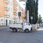 Sosta selvaggia - autorità a Bracciano
