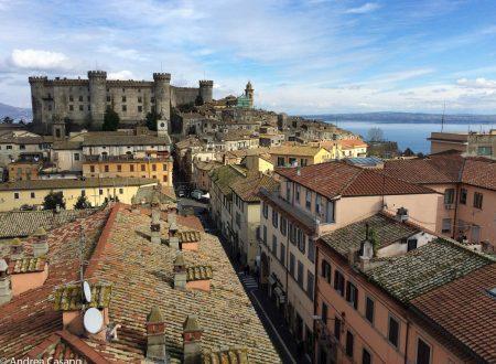 Bracciano dall'alto: foto del mio bel paese