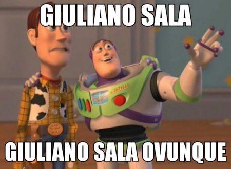 Claudio Gentili, Giuliano Sala e i meme