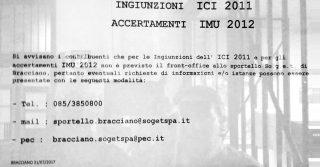 Notifica IMU - cartello ufficio tributi bracciano featured