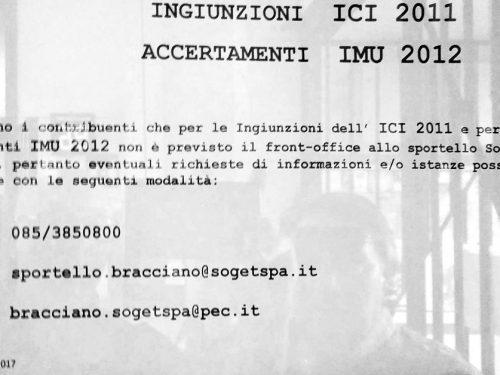 Notifica sanzione IMU Comune di Bracciano: siamo all'assurdo!