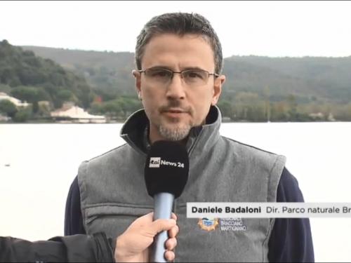 Servizio RAI sul livello idrometrico del lago di Bracciano
