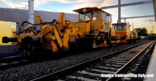Raddoppio FL3 RM-VT - Mezzo Cantiere Cesano di Roma