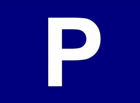 Parcheggi blu: vetrofania e abbonamenti