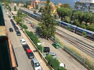 Parcheggi su strisce blu - Via Bombieri - Bracciano